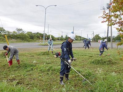 地域環境活動の参加